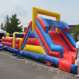 Fun Obstacle Slide